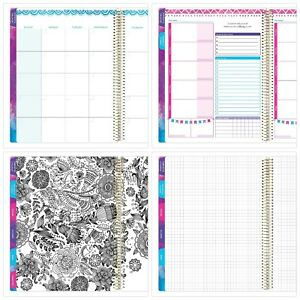 Bloom Daily Planners All In One Ultimate Monthly Weekly Planner Notebook Sketc
