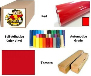 15 X 55yd Tomato Red Oracal 651 Graphic Sign Cut Vinyl private Label
