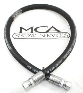 Western Snow Plow Hose Wideout 3 8 X 32 Fjic Ends 49469