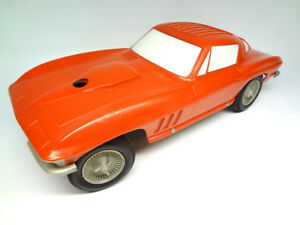 1966 Kiddie Corvette Republic Tool Car Chevrolet Dealer Promo Dealership Toy Gm
