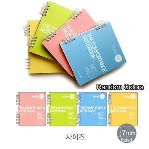 Morning Glory Comportable Small Note Pad book Colors Randomly 10 Pack