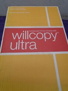 38 Cases Of Willcopy Ultra Copy Paper 982003 3 Hole 98 Bright