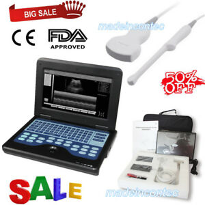 Fda Portable Laptop Machine Digital Ultrasound Scanner convex transvaginal Probe