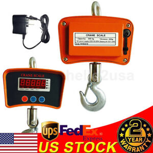 Heavy Duty 500kg 0 5kg Digital Hanging Scale Portable Industrial Crane Scale Lcd
