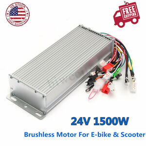 48v1500w Brushless Dc Motor Speed Controller For Electric Bicycle E bike Scooter