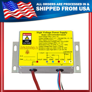 High Voltage Power Supply Dc dc Conversion Ahv12vn10kv1maw From Usa