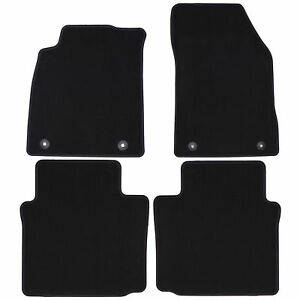 Oem New Front And Rear Carpet Floor Mats Black 14 19 Chevrolet Impala 84320781