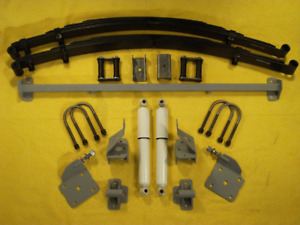 1948 53 Chevy Truck Chassis Engineering Rearend Leaf Spring Mount Kit As 1014cgy