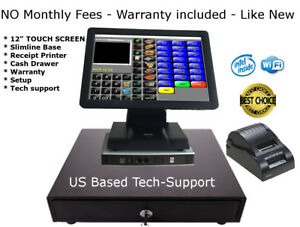 Cash Register Pos System Point Of Sale Bar Restaurant