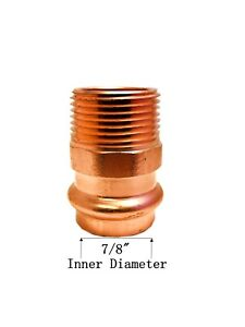 Libra Supply Lead Free 3 4 Inch 3 4 Press Copper Male Adapter P X Mip 10pcs