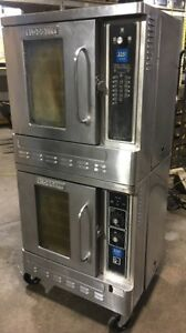 Blodgett Dfg 50 Double Commercial Half Size Gas Stainless Steel Convection Ovens