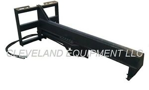 New 35 Ton Log Wood Splitter Attachment Skid Steer Loader Forestry Tree Shear