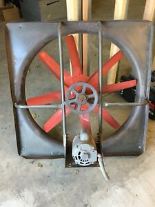 6k519 Wall Dayton Exhaust supply Fan 36 115 230v