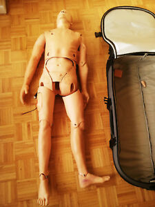 Laerdal Simman Sim Man Classic Patient Simulator Full body Training Manikin
