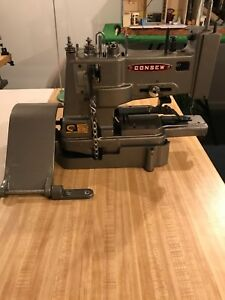 Consew 261 2 Button Sewing Machine tacker monster Machine Including Table