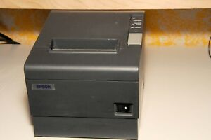 Epson Tm t88iv M129 Thermal Receipt Printer serial auto Cut With Power Supply