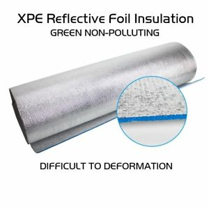 Blue Xpe Bubble Insulation Solid Radiant Barrier Reflective Construction 480 x39