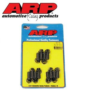 Arp 6 Point Header Bolt Set Fits Sb Chevy 400 350 327 305 283 Engines 100 1101