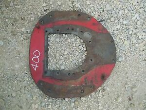 Farmall 400 Rowcrop Tractor Ih Engine Motor Steel Mounting Plate