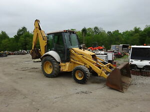 New Holland 655e Loader Backhoe 4x4 4wd One Owner Nice Ford Tractor 555