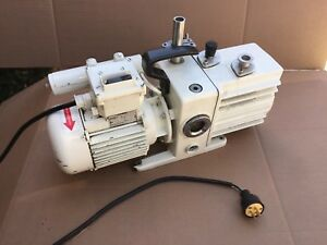 Working Leybold Trivac D4a Dual Stage Rotary Vane Mechanical Vacuum Pump