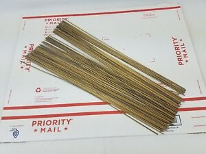 Bare Brass Gas Brazing Rod inch by 18 inch 98 rods