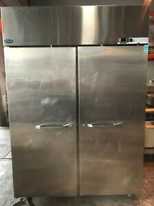 Norlake Commercial 55 Solid 2 Door Reach in Freezer