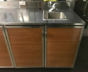 Duke 36 Commercial Hand Sink Station With Under Cabinet