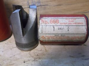660 High Speed Plain Hollow Mill Cleveland Twist Drill Co