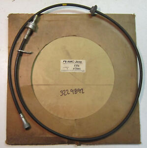 1977 Amc Gremlin Hornet 4 Speed Manual Transmission Nos Speedometer Cable