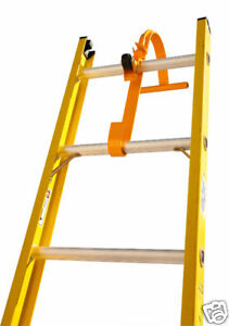New Steel Ladder Roof Hook With Wheel Roof Equipment Extension Ladder