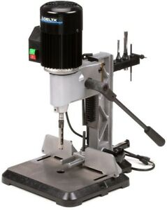 Delta Bench Top Mortising Machine Drill Press 9 8 Amp 120 volt 1 2 Hp Power Tool