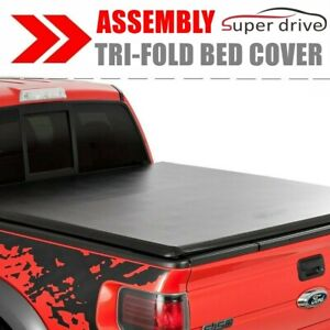 Lock Tri Fold Tonneau Cover For 1994 2001 Dodge Ram 1500 6 5ft Bed Assemble