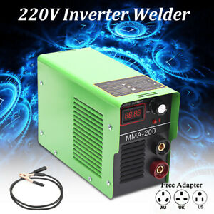 220v 200amp Mma 200 Portable Electric Welding Machine Solder Arc Inverter Welder