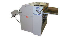 Uv Coater Graphic Whizard Vivid Coater Xdc 530 inventory Reduction Sale