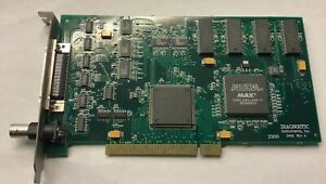 Diagnostic Instruments 0459 Spot Imaging Solutions Pci Video Card 00 08 0027
