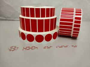 Void Warranty Seal Stickers Red Tamper Proof Labels Protect Your Items All Sizes