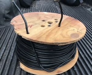 Insulated Copper Wire 300 Ft Wood Spool