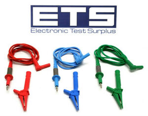 Ideal Voltage Probe Alligator Clip Test Lead Set