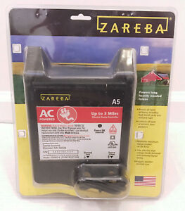 Zareba A5 5 Mile Electric Fence Ac Solid State Charger Model 115v04j