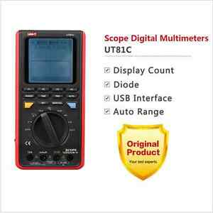 Uni t Ut81c Graphical Digital Multimeter Auto Range 16mhz 80ms s Usb Interface