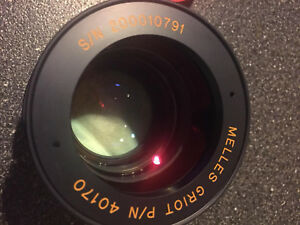 Melles Griot P n 40170 Scan Optics Lens