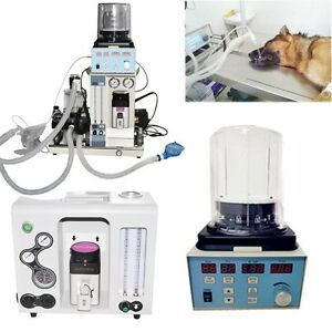 Medical Portable Veterinary Vet Anesthesia Machine Co2 Circle Ventilator Ippv