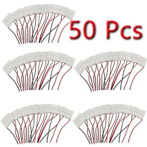 50 Pcs Tec1 12710 Thermoelectric Cooler Peltier 100w 40 40mm