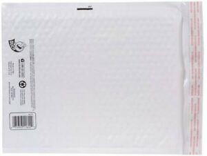 Duck Brand 2 Bubble Wrap Cushioned White Poly Envelope 8 5 X 11 25pk