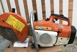 Stihl Ts400 Concrete Cut off Saw Runs Great