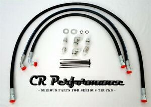 Duramax Transmission Cooler Lines Hoses 5 8 04 05 Chevy Gmc W Allison