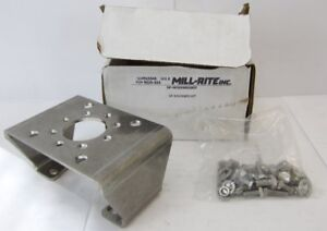 Mill rite Sp m30x80sskit Valve Positioner Mounting Kit Stainless Steel New