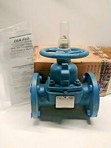 New Old Stock Itt Dia flo 2 Hand Wheel Operated Flow Valve 2 2538 17 903