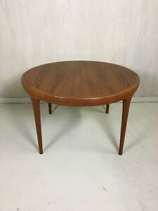 Danish Modern Ib Kofod Larsen Extending Teak Dining Table